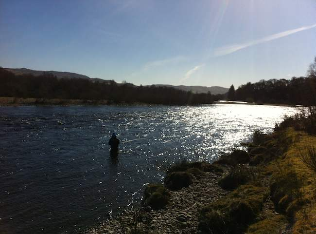 Fly Fishing In The Perfect Scottish Spring Sunlight